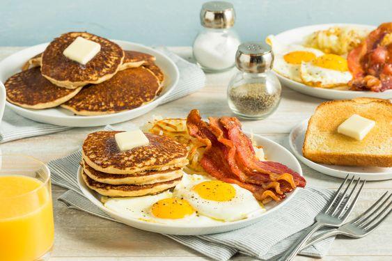 американский завтрак рецепт