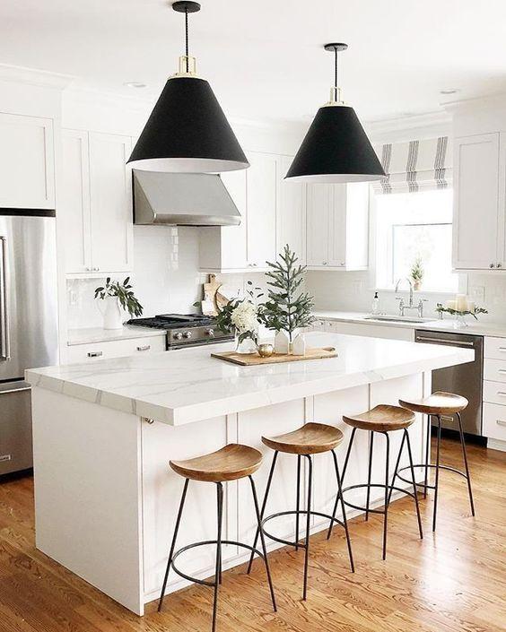 скандинаский дизайн интерьера кухня