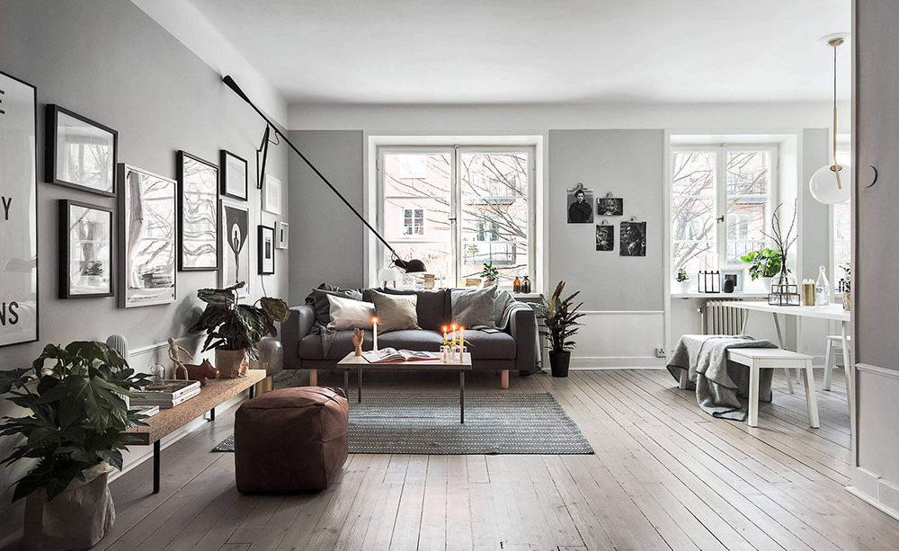 скандинаский дизайн интерьера