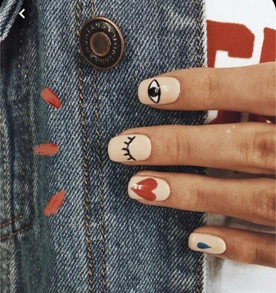 идеи маникюра на коротких ногтях