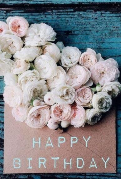 открытка с днем рождения розы