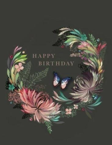 красивая открытка с цветами