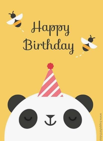 прикольная открытка панда