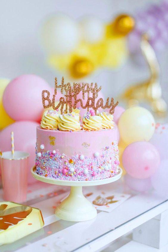 с днем рождения торт