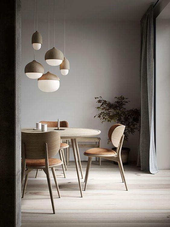 скандинаский дизайн светильники