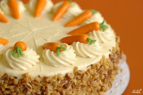 морковный торт рецепт