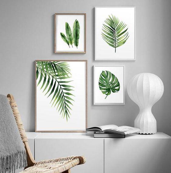 Картини на стіні в інтер'єрі