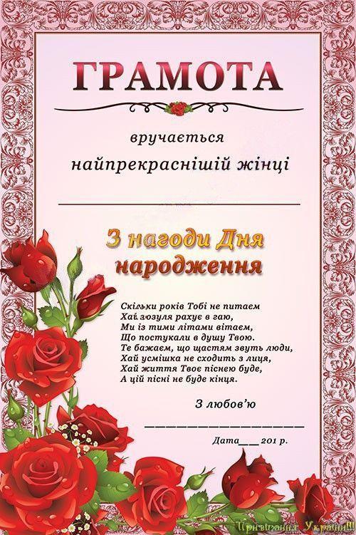 листівка з днем народження 7