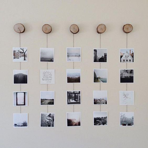 Фотографії на стіні в інтер'єрі
