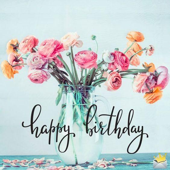 з днем народження картинки квіти