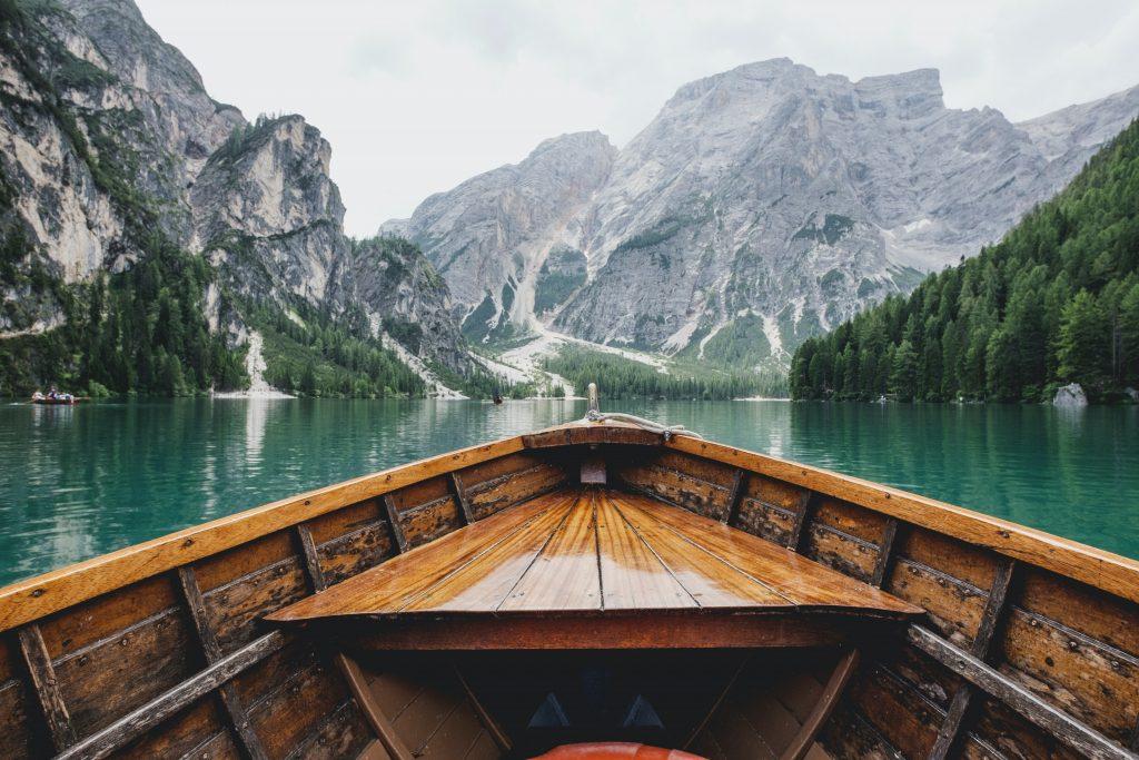 фото подорож на човні