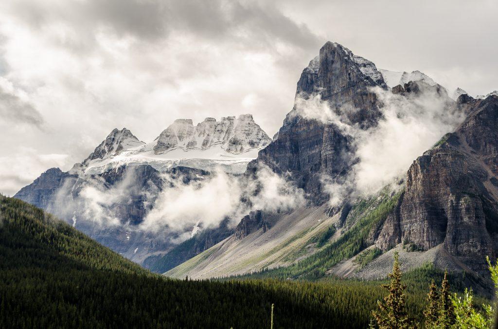 фото туман в горах