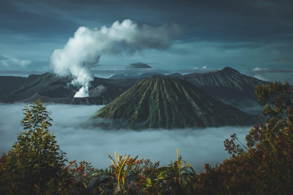 красиве фото вулкану