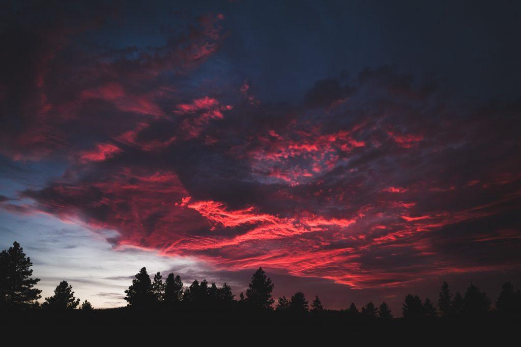 красиве фото рожеве небо