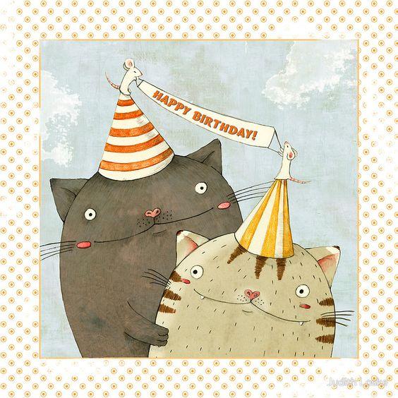 прикольні листівки з днем народження