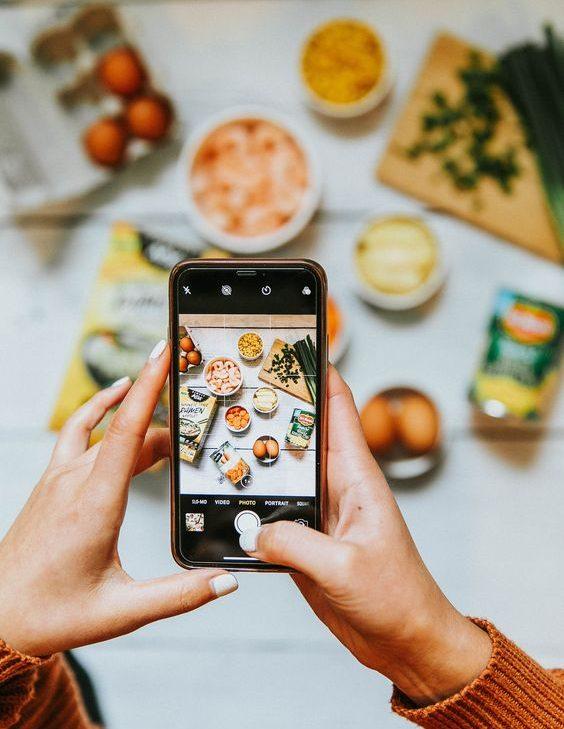 як красиво сфотографувати їжу для Instagram