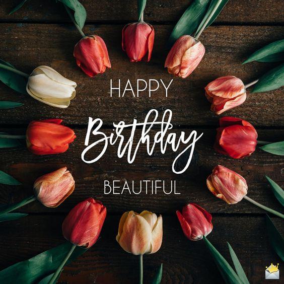 листівка з днем народження для жінок
