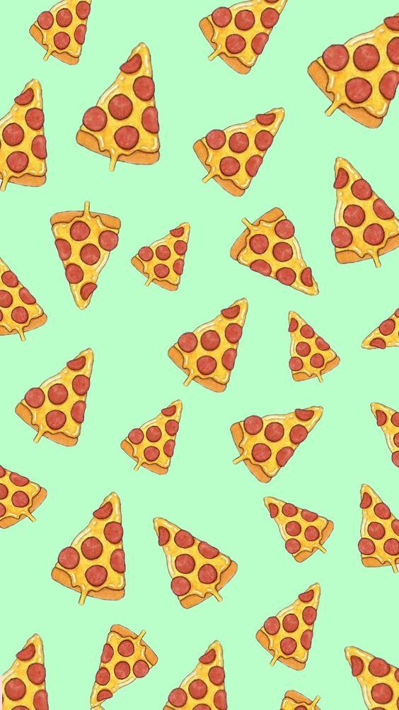 шпалери з паттерном піца