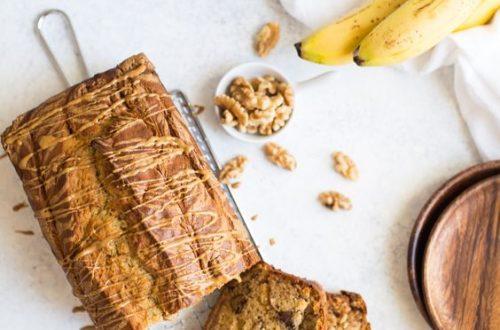 Рецепт бананового кексу з горіхами