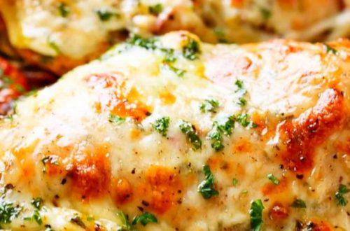 рецепт курячого філе з сиром