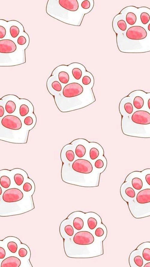 шпалери котячі лапи