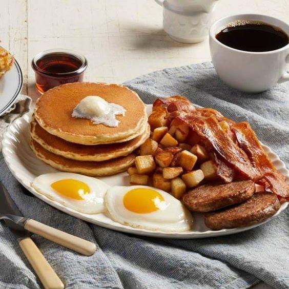 американський сніданок