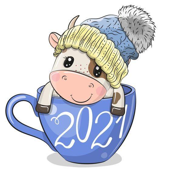 новий рік бика 2021