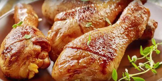 Курячі ніжки в соєво-медовому маринаді